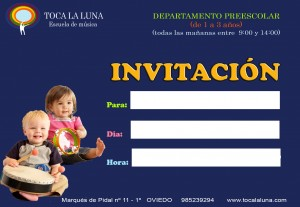 invitaciónPEQUES