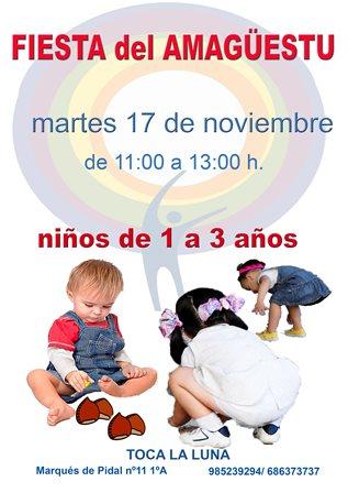 Martes 17 de Noviembre desde las 11, rica Castaña con DO Bierzo y sidra dulce para todos, manualidades, bailes, canciones... ¡No te lo pierdas!