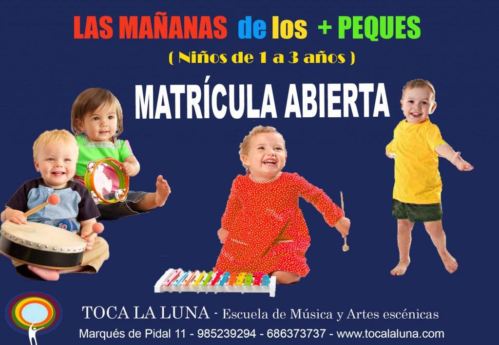 LUDOTECA MUSICAL MATRICULA ABIERTA